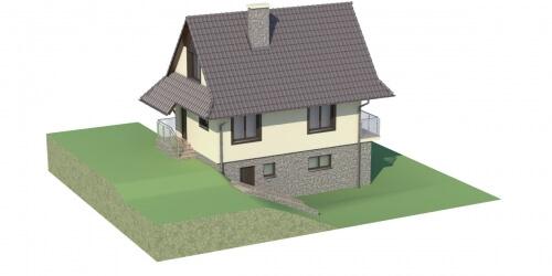 Projekt domu DM-6038 - model