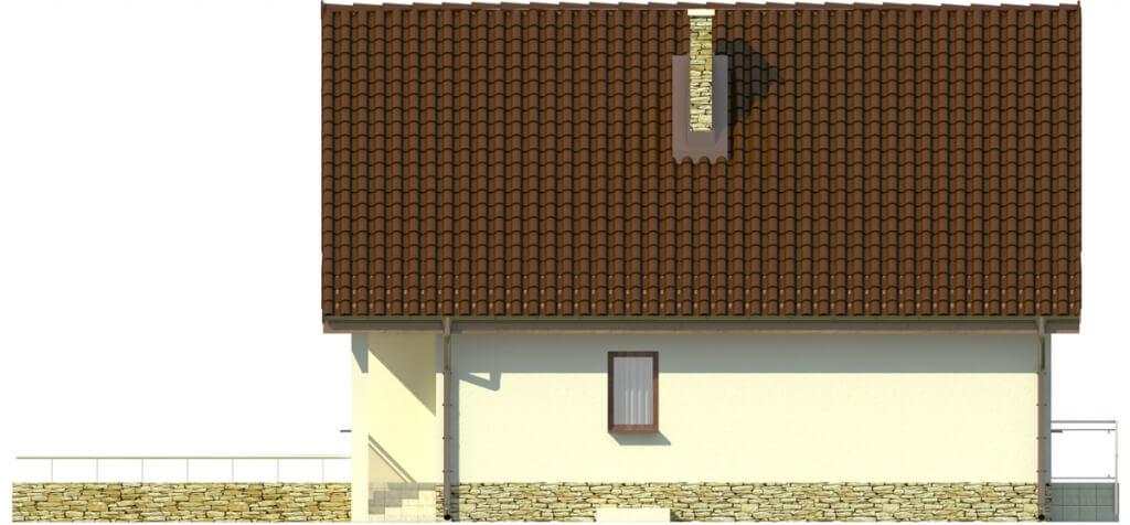 Projekt domu DM-6273 - elewacja