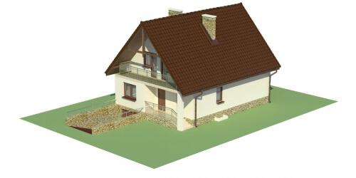 Projekt domu DM-6273 - model