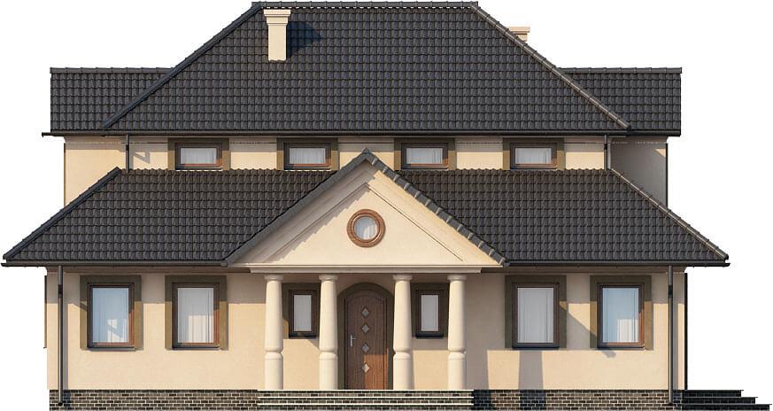 Projekt domu DM-6276 - elewacja