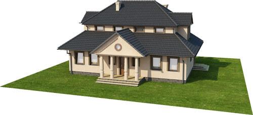 Projekt domu DM-6276 - model