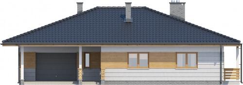 Projekt domu DM-6278 - elewacja