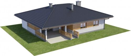 Projekt domu DM-6278 - model