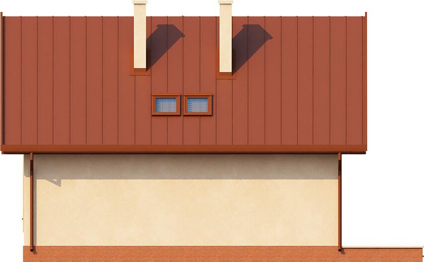 Projekt domu DM-6279 - elewacja