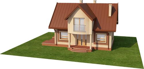 Projekt domu DM-6279 - model