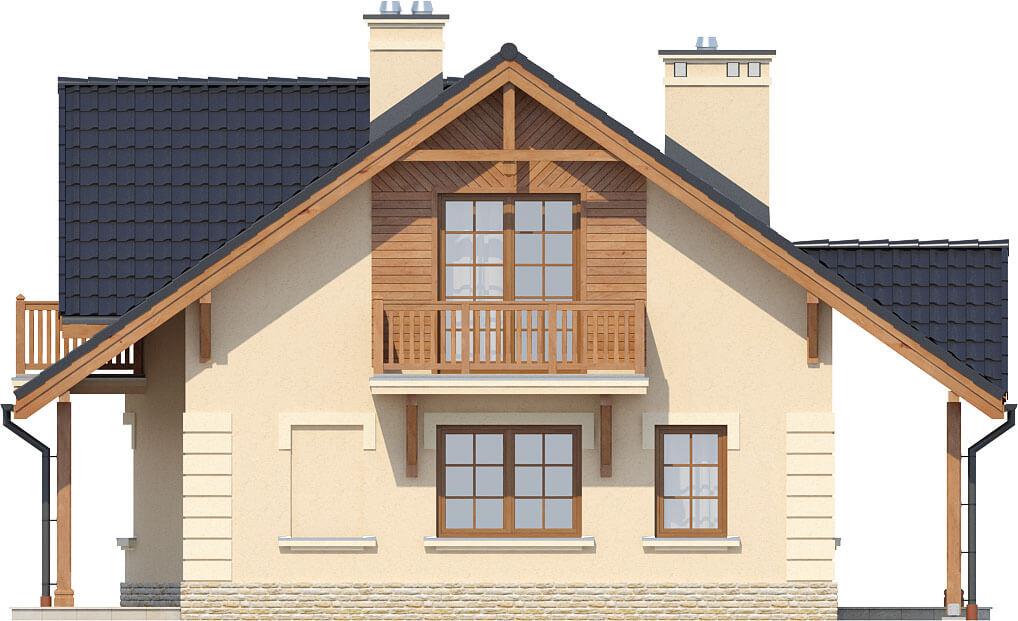Projekt domu DM-6282 - elewacja