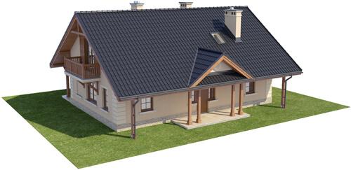 Projekt domu DM-6282 - model