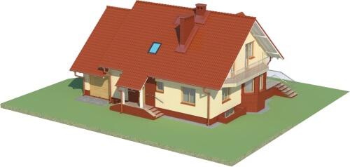 Projekt domu DM-6040 - model