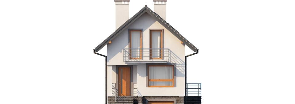 Projekt domu DM-6285 - elewacja