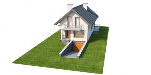 Projekt domu DM-6285 - model