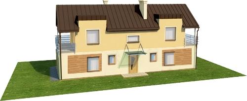 Projekt domu DM-6289 - model