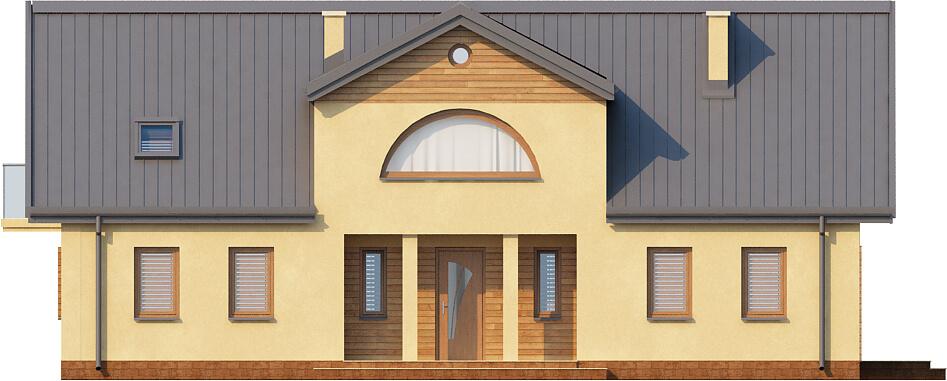 Projekt domu DM-6290 - elewacja