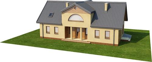 Projekt domu DM-6290 - model