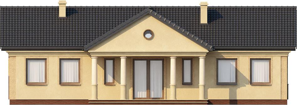 Projekt domu DM-6291 - elewacja