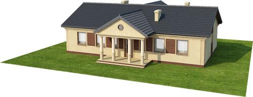 Projekt domu DM-6291 - model