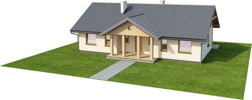 Projekt domu DM-6292 - model