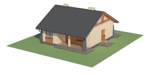 Projekt domu DM-6298 - model