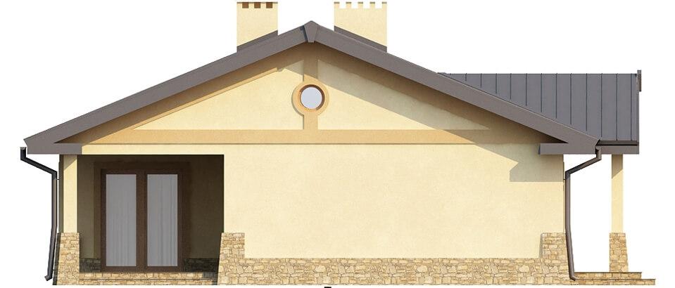 Projekt domu DM-6300 - elewacja