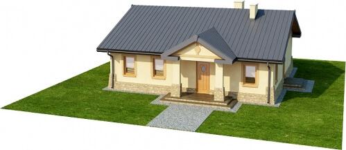 Projekt domu DM-6300 - model