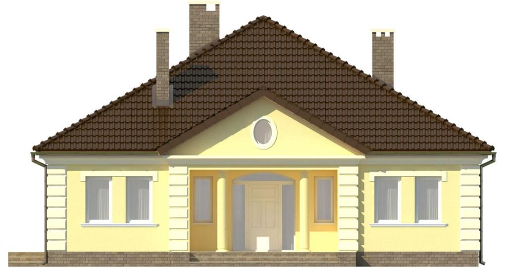 Projekt domu DM-6303 - elewacja
