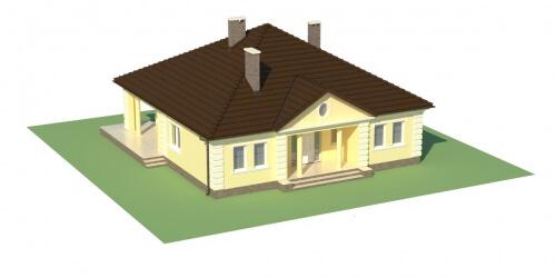 Projekt domu DM-6303 - model