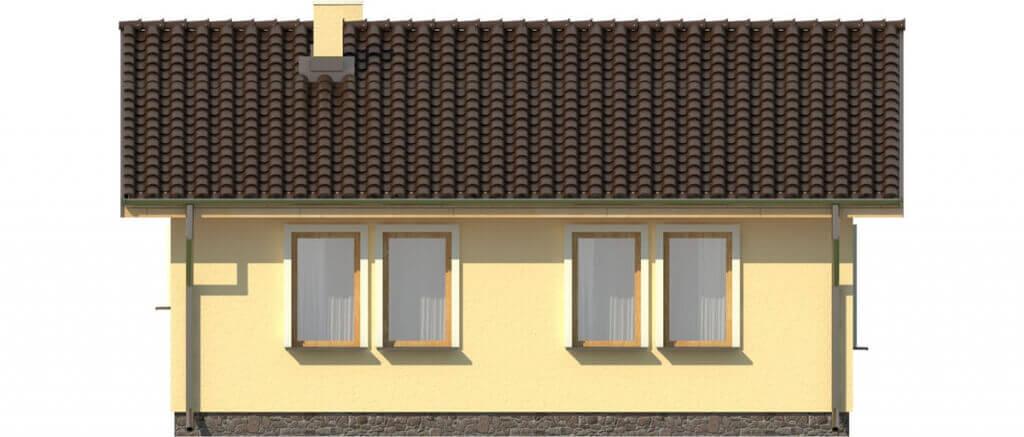 Projekt domu DM-6309 - elewacja