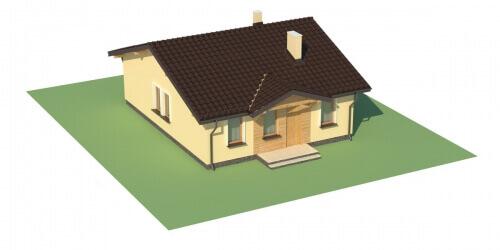 Projekt domu DM-6309 - model