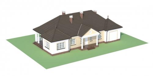 Projekt domu DM-6313 - model