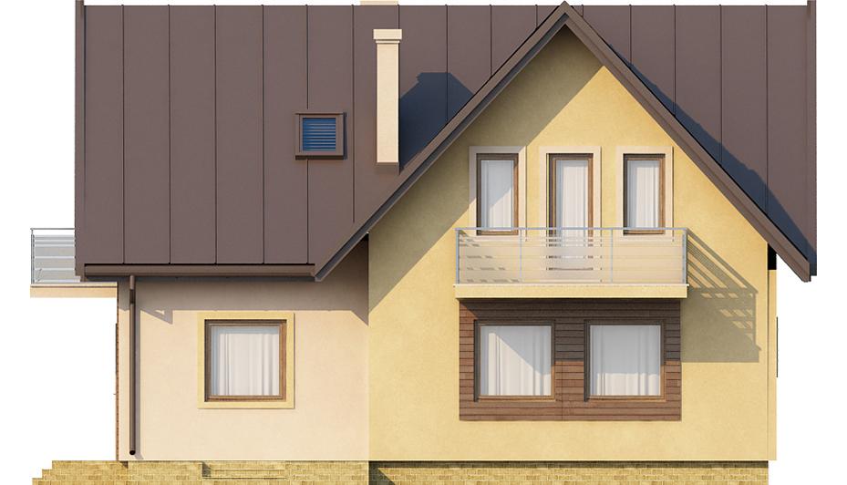Projekt domu L-6245 - elewacja