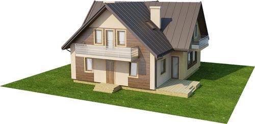 Projekt domu L-6245 - model