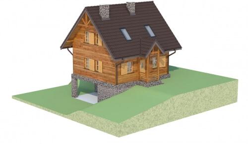 Projekt domu L-6261 - model