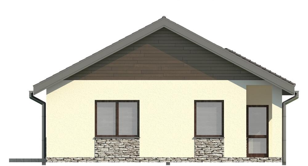 Projekt domu DM-5516 - elewacja