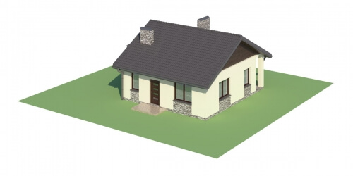 Projekt domu DM-5516 - model