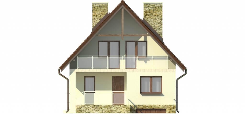 Projekt domu L-6273 - elewacja