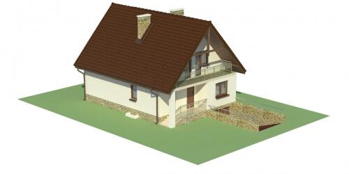 Projekt domu L-6273 - model