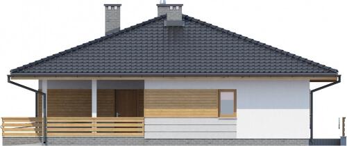 Projekt domu L-6278 - elewacja