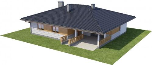 Projekt domu L-6278 - model