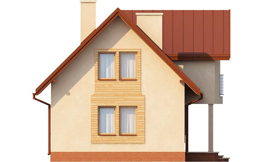Projekt domu L-6279 - elewacja