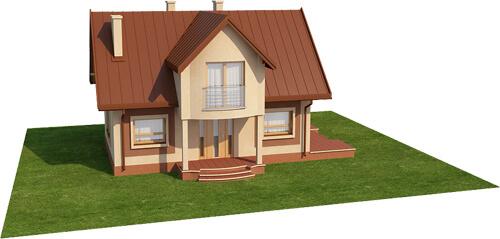 Projekt domu L-6279 - model