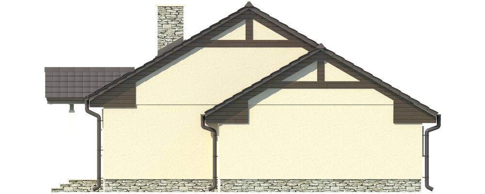 Projekt domu L-5538 - elewacja