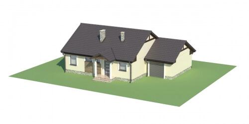 Projekt domu L-5538 - model