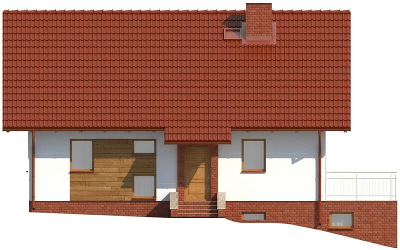 Projekt domu L-6036 - elewacja