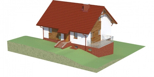 Projekt domu L-6036 - model