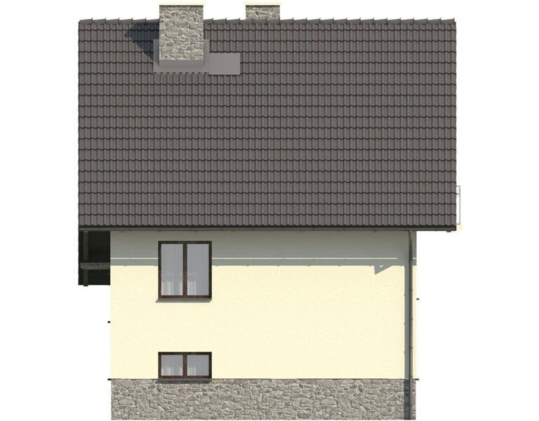 Projekt domu L-6088 - elewacja
