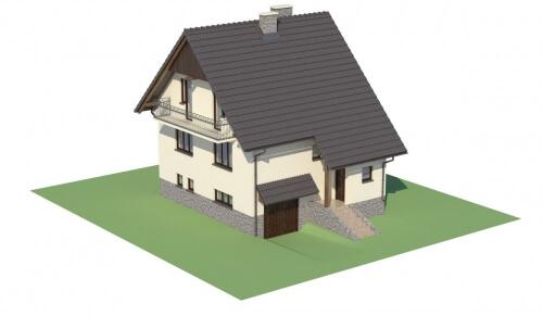 Projekt domu L-6088 - model