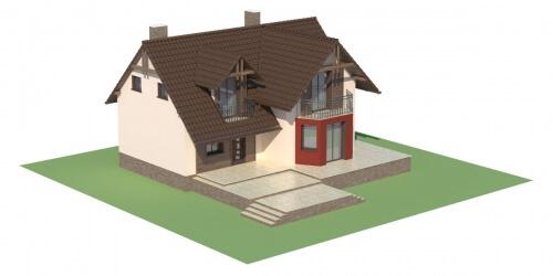 Projekt domu L-6108 - model