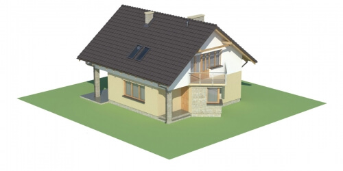 Projekt domu L-6125 - model
