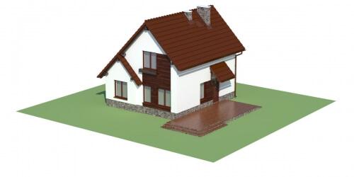 Projekt domu DM-6024 - model