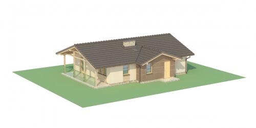 Projekt domu DM-6033 - model