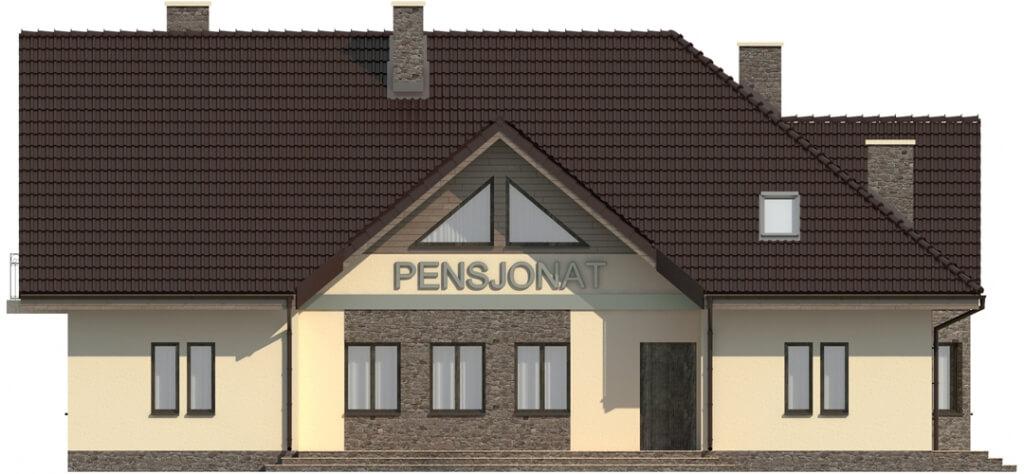 Projekt domu DM-6044 - elewacja
